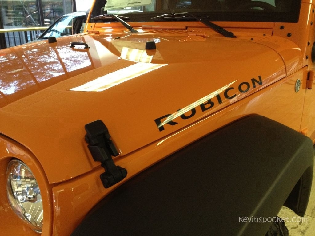 Crush Orange And Arctic Jk Jeep Wranglers Spotted