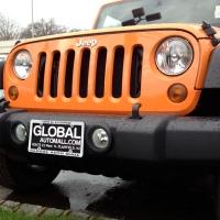 Crush Orange Jeep Wrangler JK - second sighting