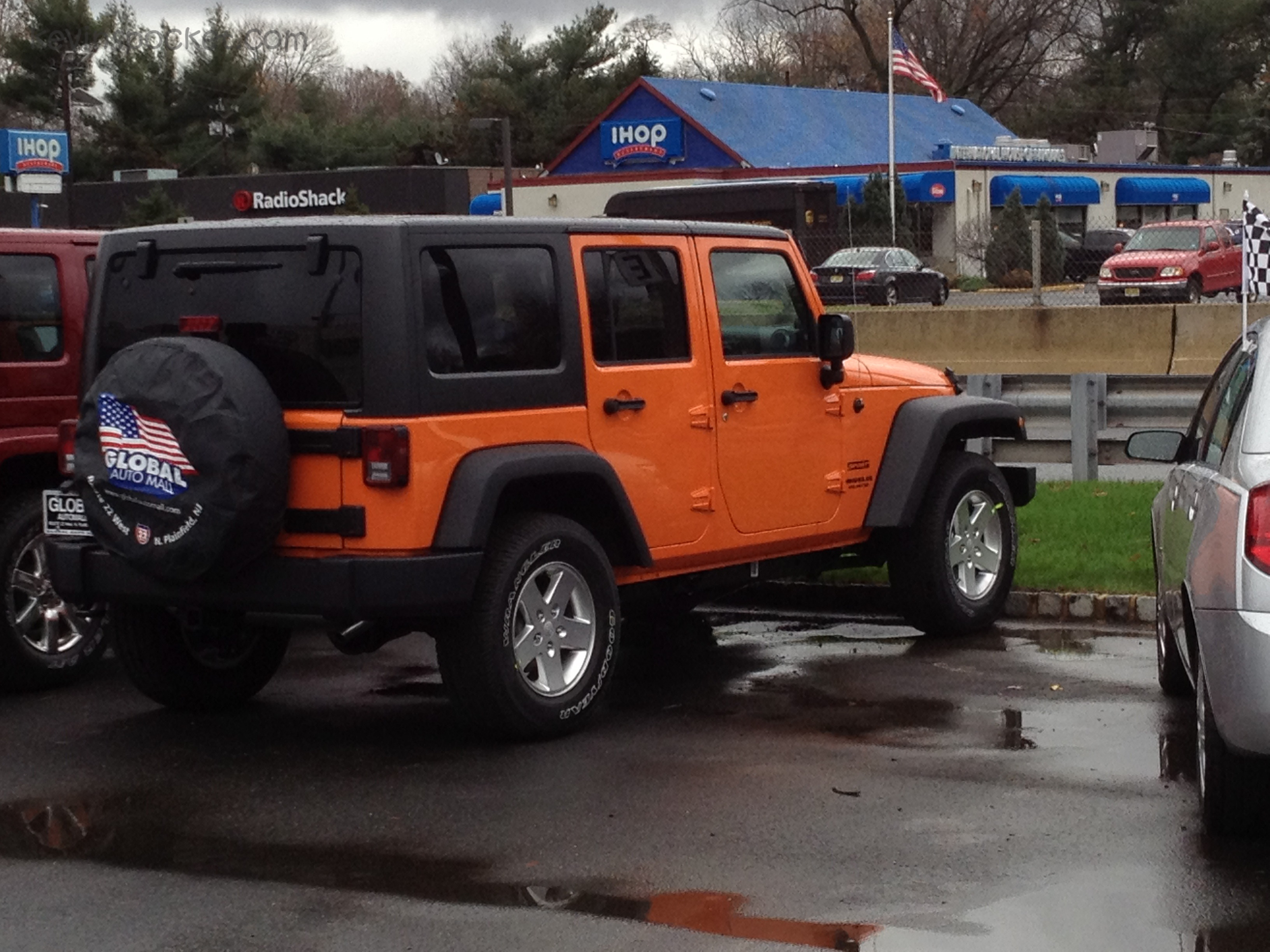 Crush Orange Jeep Wrangler Jk Second Sighting Kevinspocket