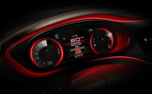 2013 Dodge Darg Interior