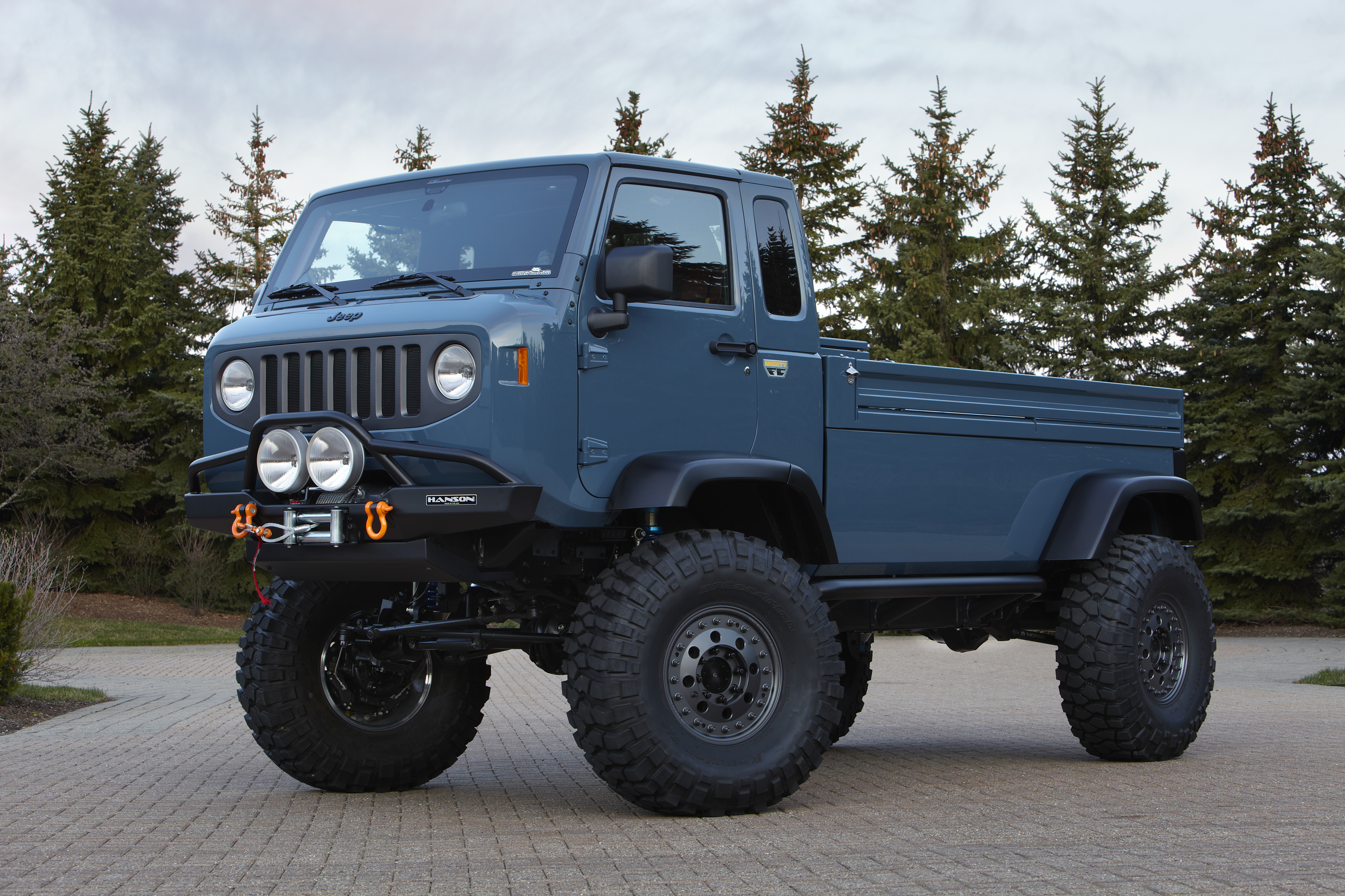 Jeep continues to test the water with a pair of pickup concepts