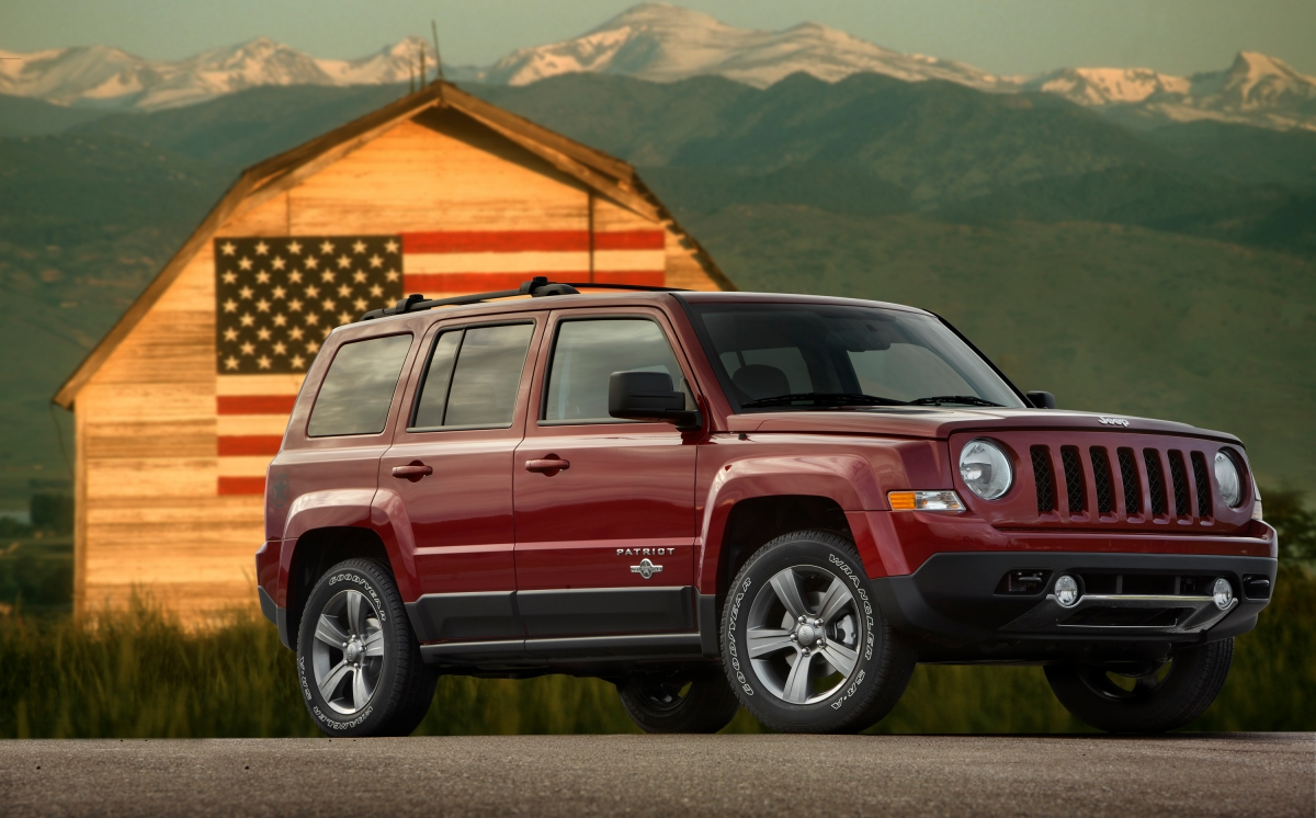 Jeep honors veterans with Freedom edition Patriot for 2013