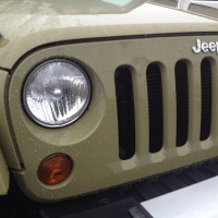 Jeep Wrangler Commando Sighting