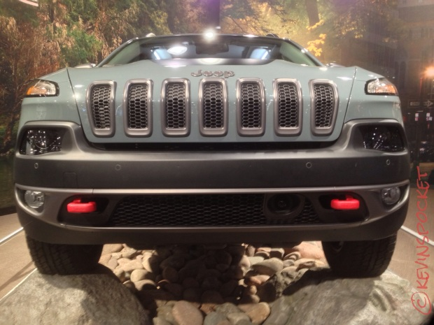TrailHawk's front end