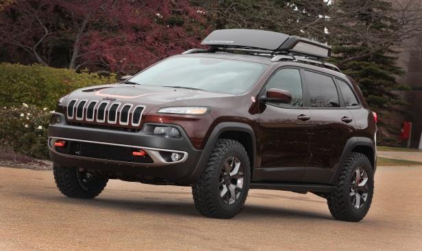 Jeep Cherokee Trail CArver