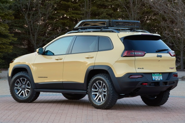 Jeep Cherokee Adventurer is one of six concept vehicles develope