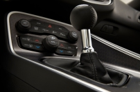 2015 Dodge Challenger 6-speed manual shifter