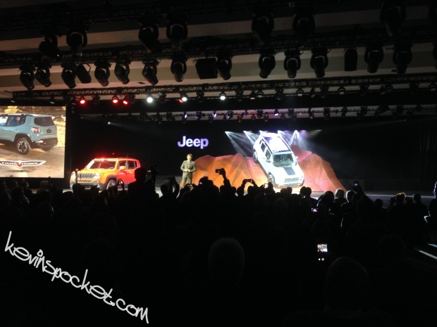 2015 Jeep Renegade Reveal