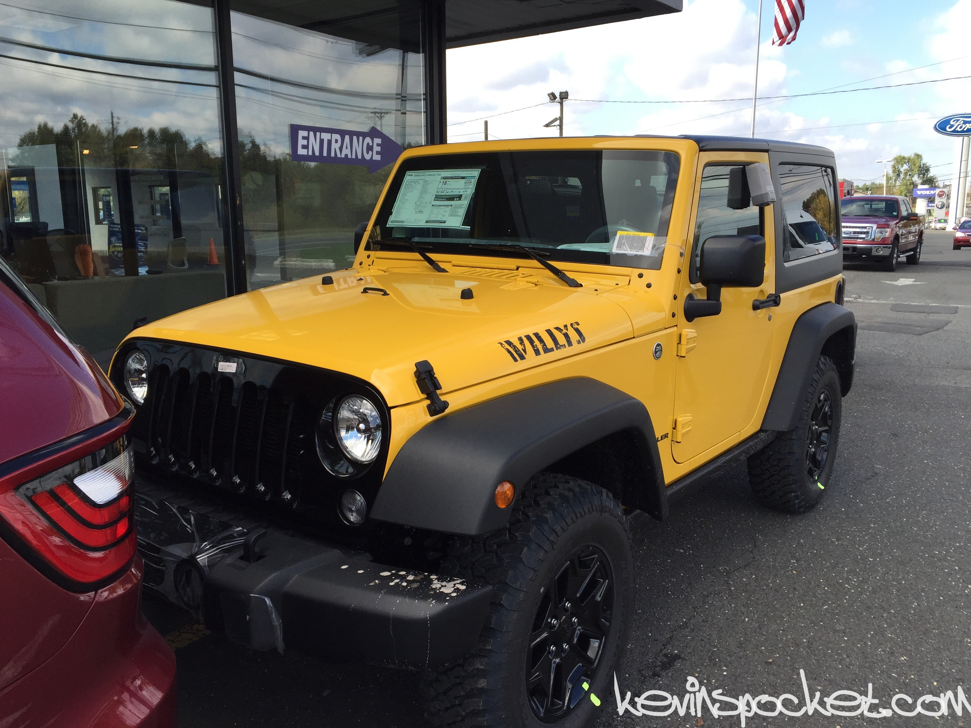 Baja Yellow Jeep Wrangler Jk 2015 01 Kevinspocket