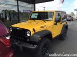 2015 Baja Yellow Jeep Wrangler JK Willy's Edition