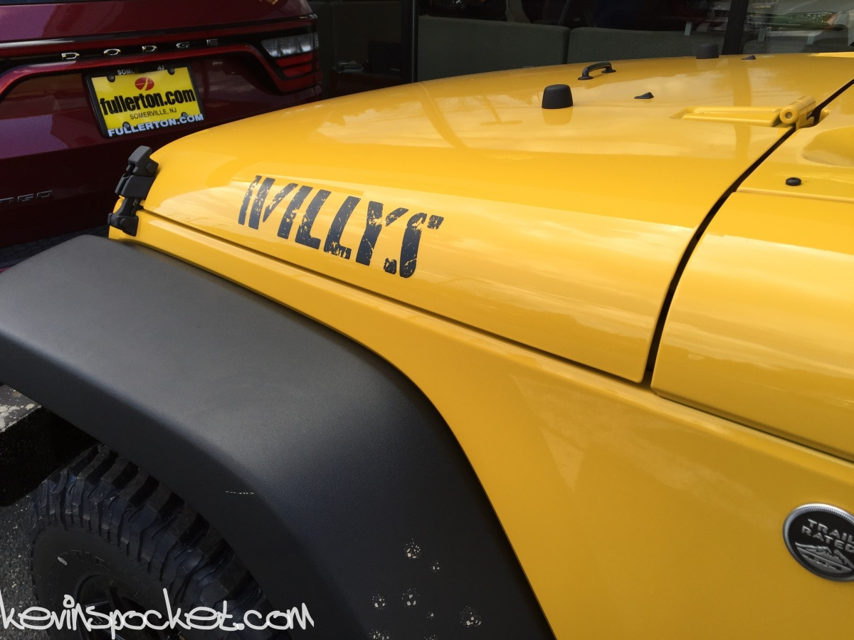 Baja Yellow 2015 Jeep Wrangler Willys Edition Spotted [gallery]