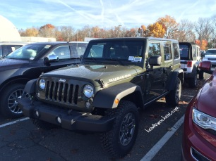 2015 Jeep Wrangler Unlimted Rubicon - Tank Green