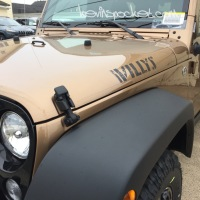 Copper Brown 2015 Wrangler Willys spotted! [gallery]