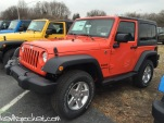 Sunset Orange Jeep Wrangler JK
