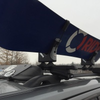 Installing the Thule 575 Universal Snowboard Rack on a Jeep Patriot