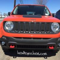 2015 Jeep Renegade - Omaha Orange spotted!