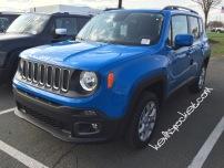 2015 Jeep Renegade Latitude Sierra Blue