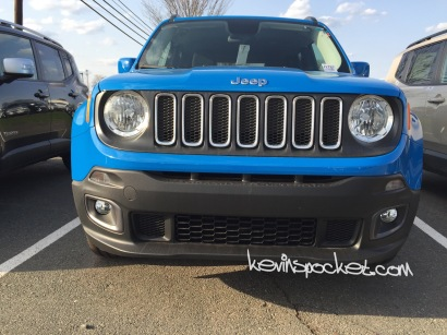 2015 Jeep Renegade Latitude Sierra Blue
