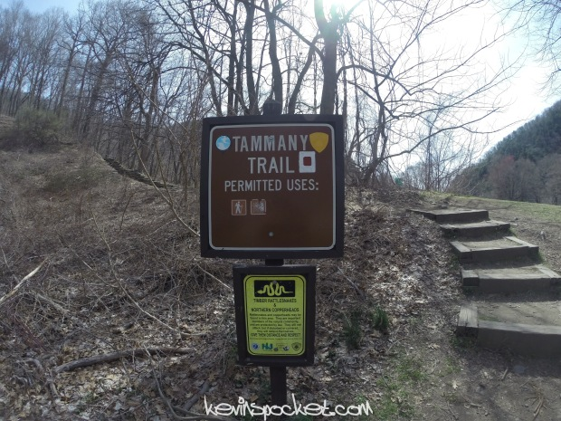 Mt Tammany Trail Sign
