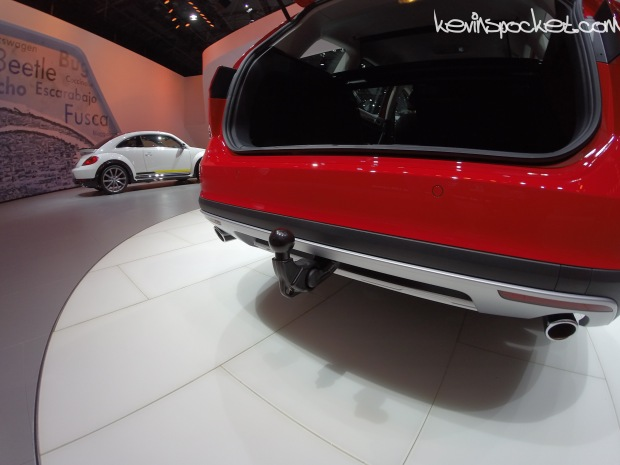 Volkswagen Golf All Track Secret Hitch!!