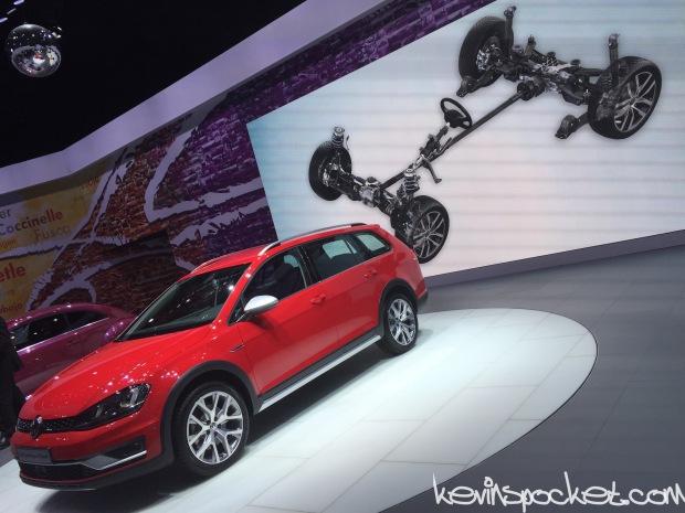 2017 VW GolfWagen AllTrack 4Motion System