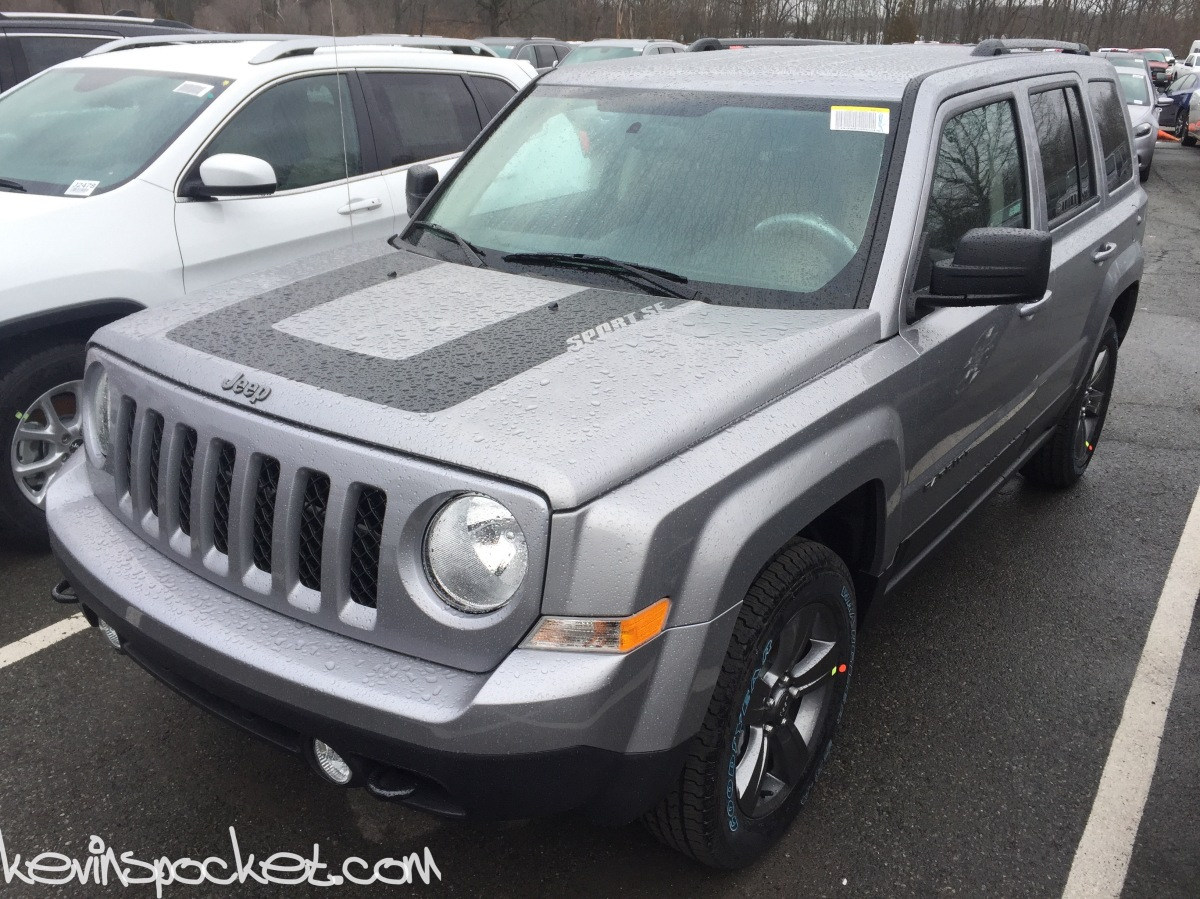2016 Jeep Patriot Sport Se Includes Heated Seats A C