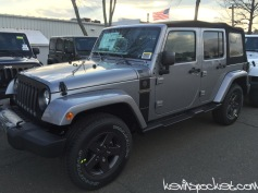2016 Jeep Wrangler Freedom Edition
