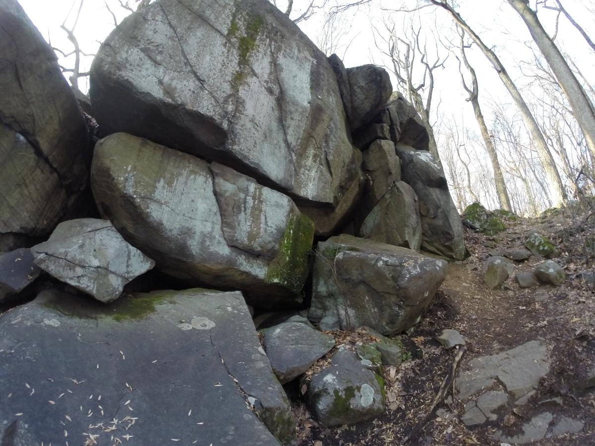 Hike 03: Devil's Half Acre Boulders