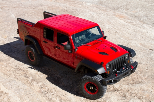 Jeep Wrangler Red Rock Responder– Easter Jeep Safari 2015