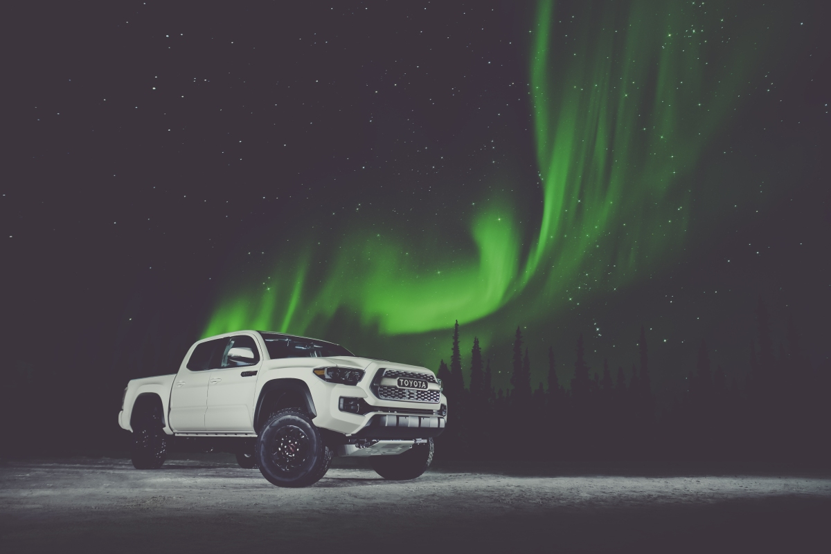 TRD Pro Taco Truck gets dirty in Alaska