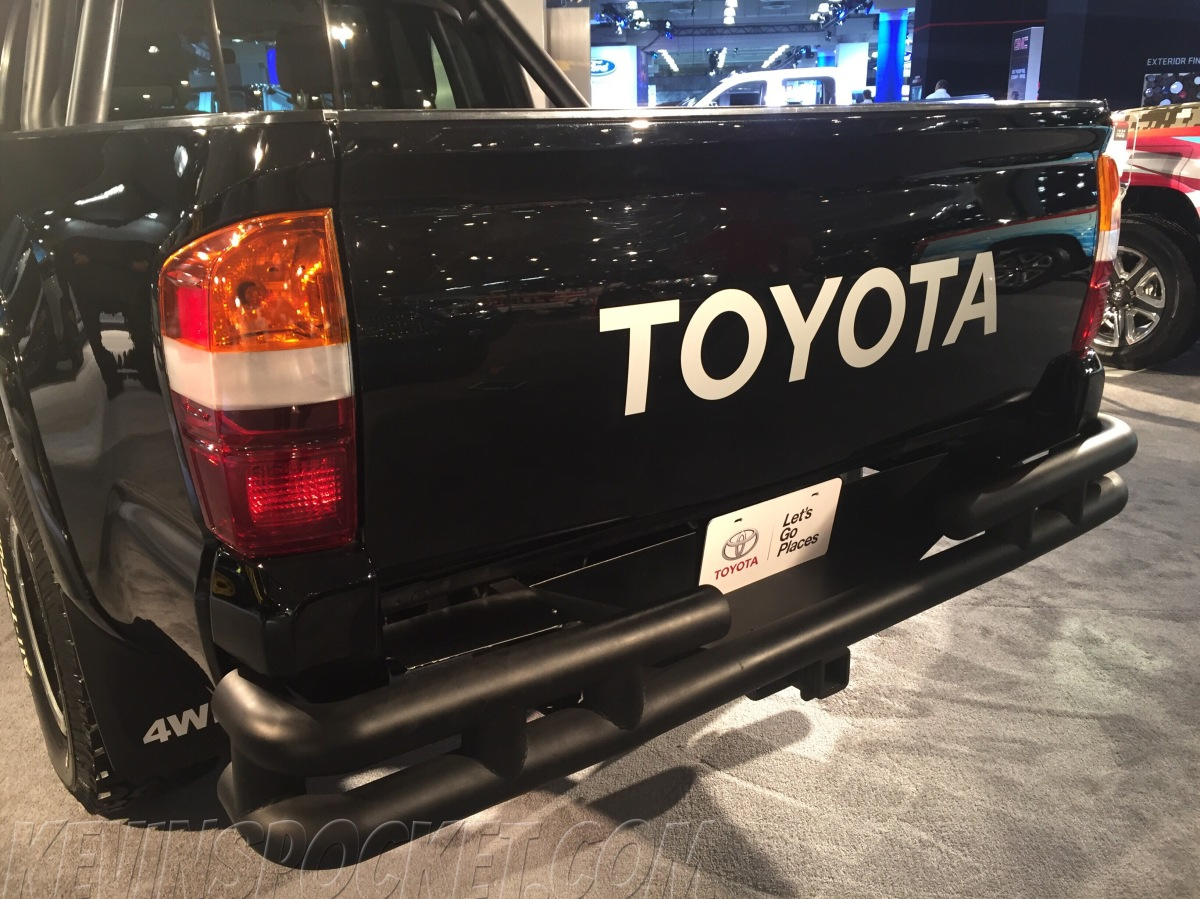 off-road concept vehicles from the NY Auto show: Toyota Tacoma Back to the Future edition
