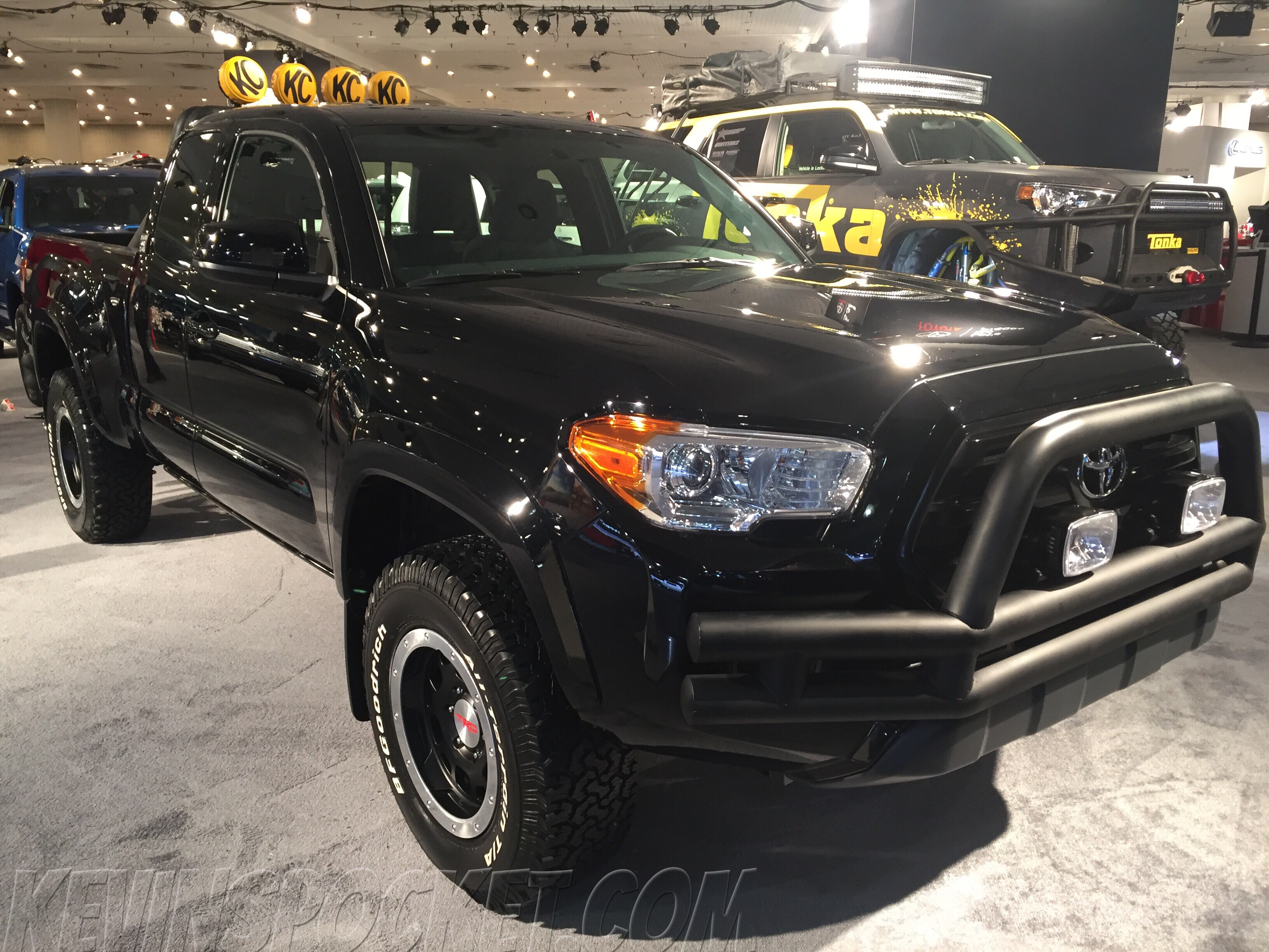 off road concept vehicles from the ny auto show toyota tacoma back to the future edition. Black Bedroom Furniture Sets. Home Design Ideas