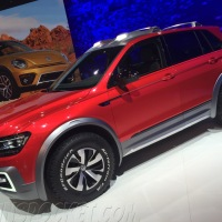 off-road concept vehicles from the NY Auto show: VW Tiguan GTE