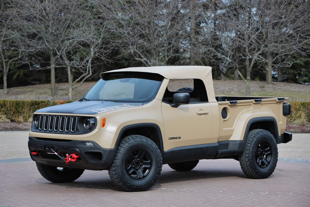 Jeep Comanche Concept: it's what's on the inside that counts