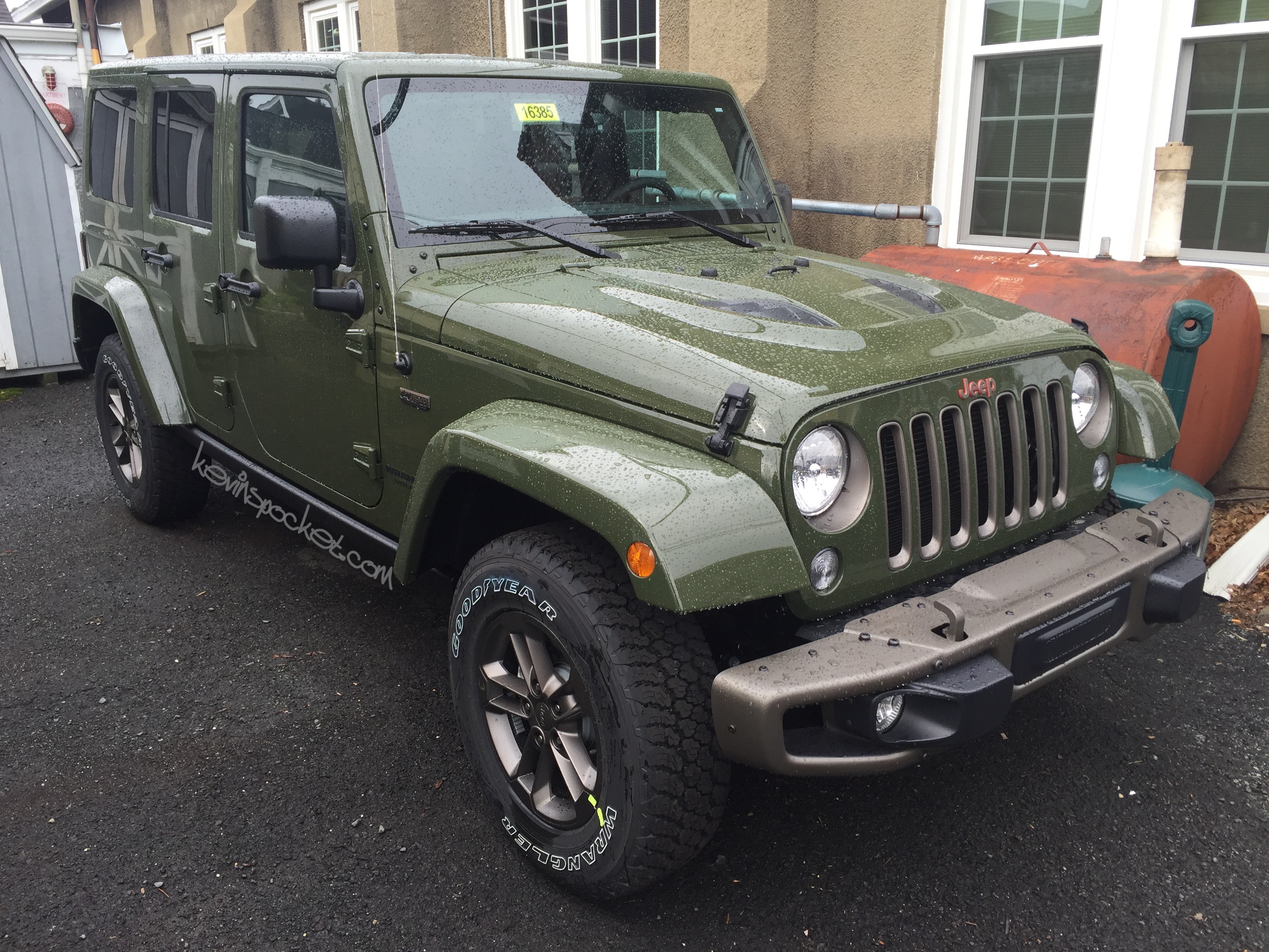 unlimited package jeep anniversary wrangler sahara