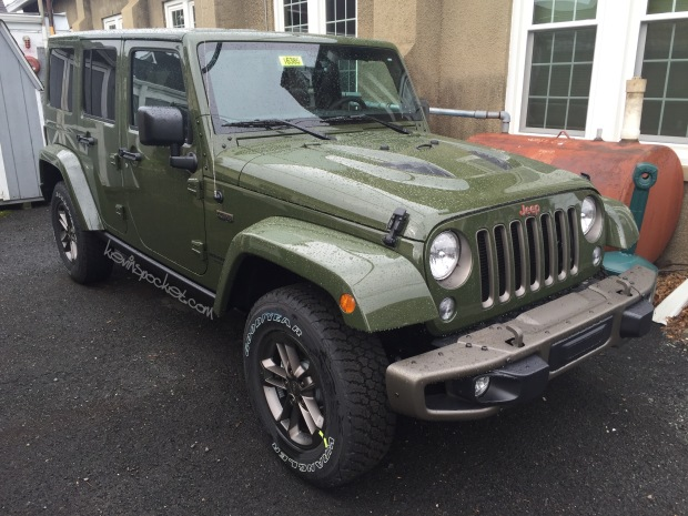 Sarge Green 75th Anniversary Edition Wrangler