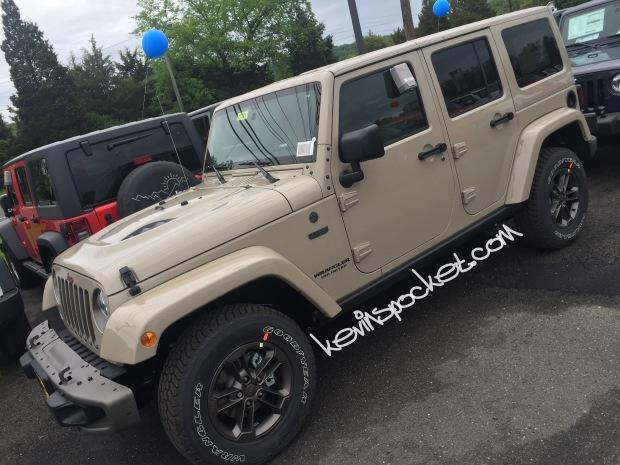 2016 Jeep Gladiator >> Mojave Sand Wrangler Spotted – kevinspocket