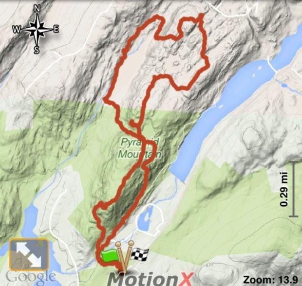 Pyramid Mountain_Hike_Track