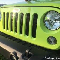 Hyper Green Wrangler is hyper!