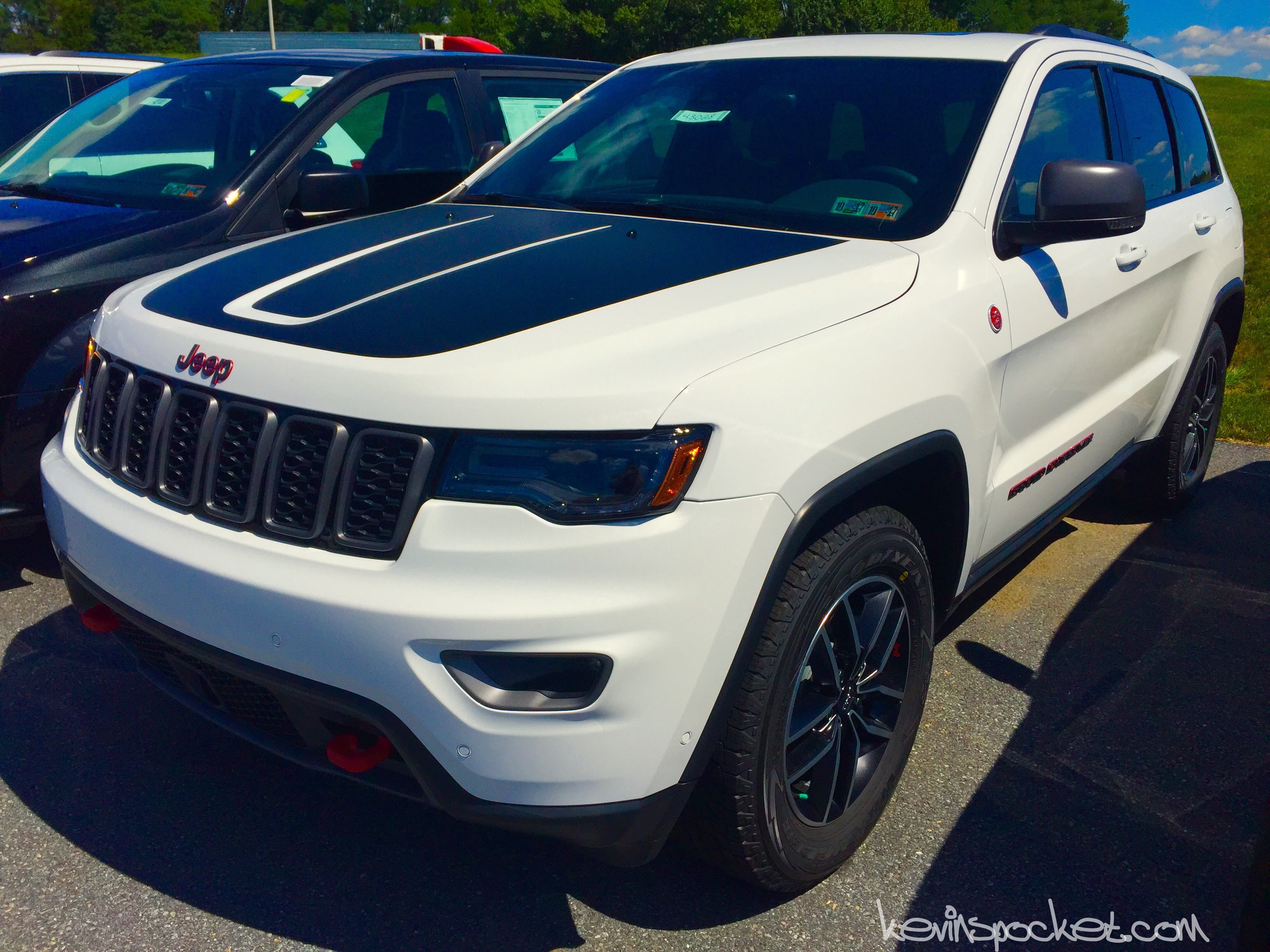 2017 Jeep Grand Cherokee Trailhawk Spotted – Kevinspocket