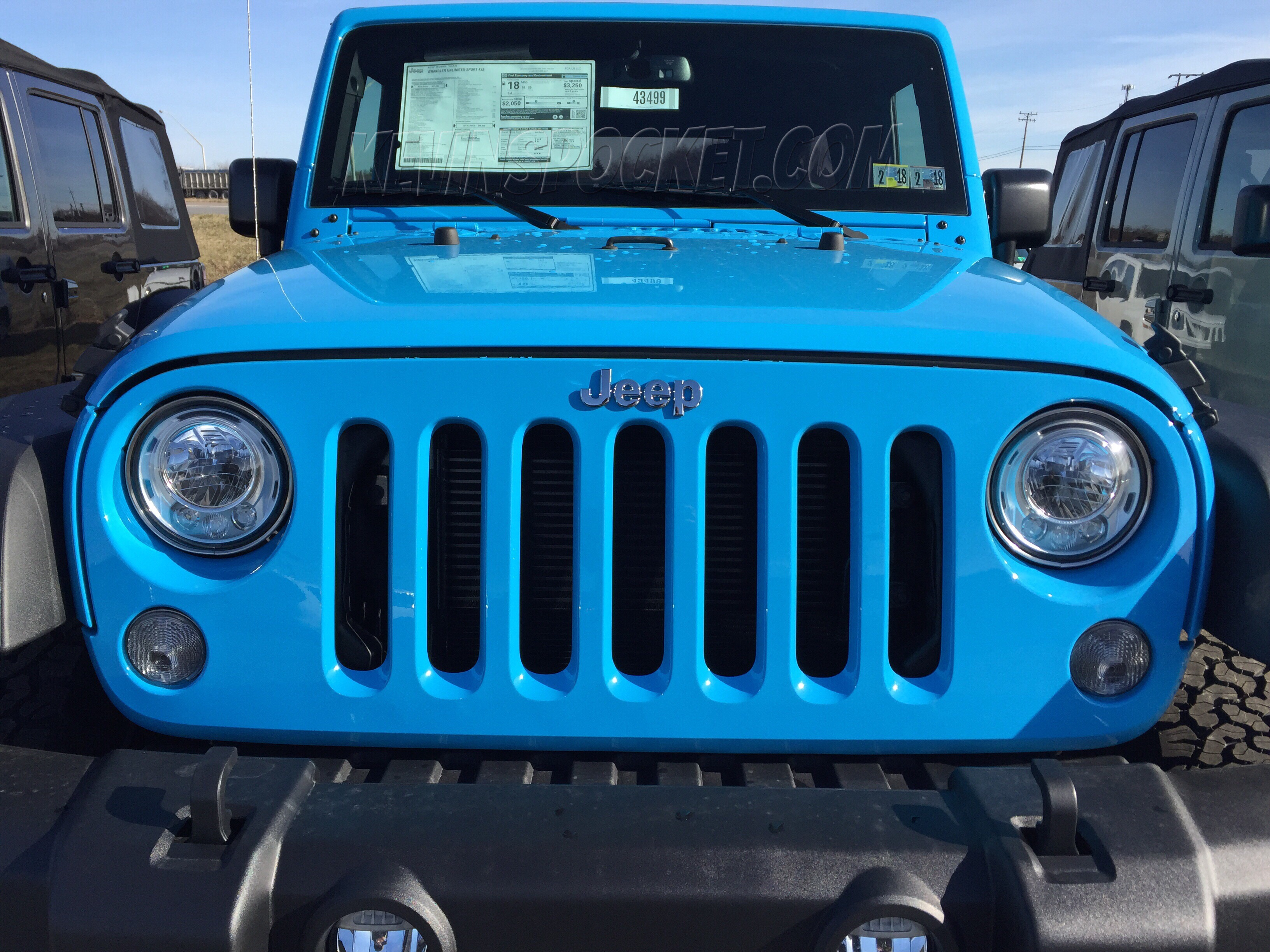 Chief Blue Wranglers Spotted! – kevinspocket