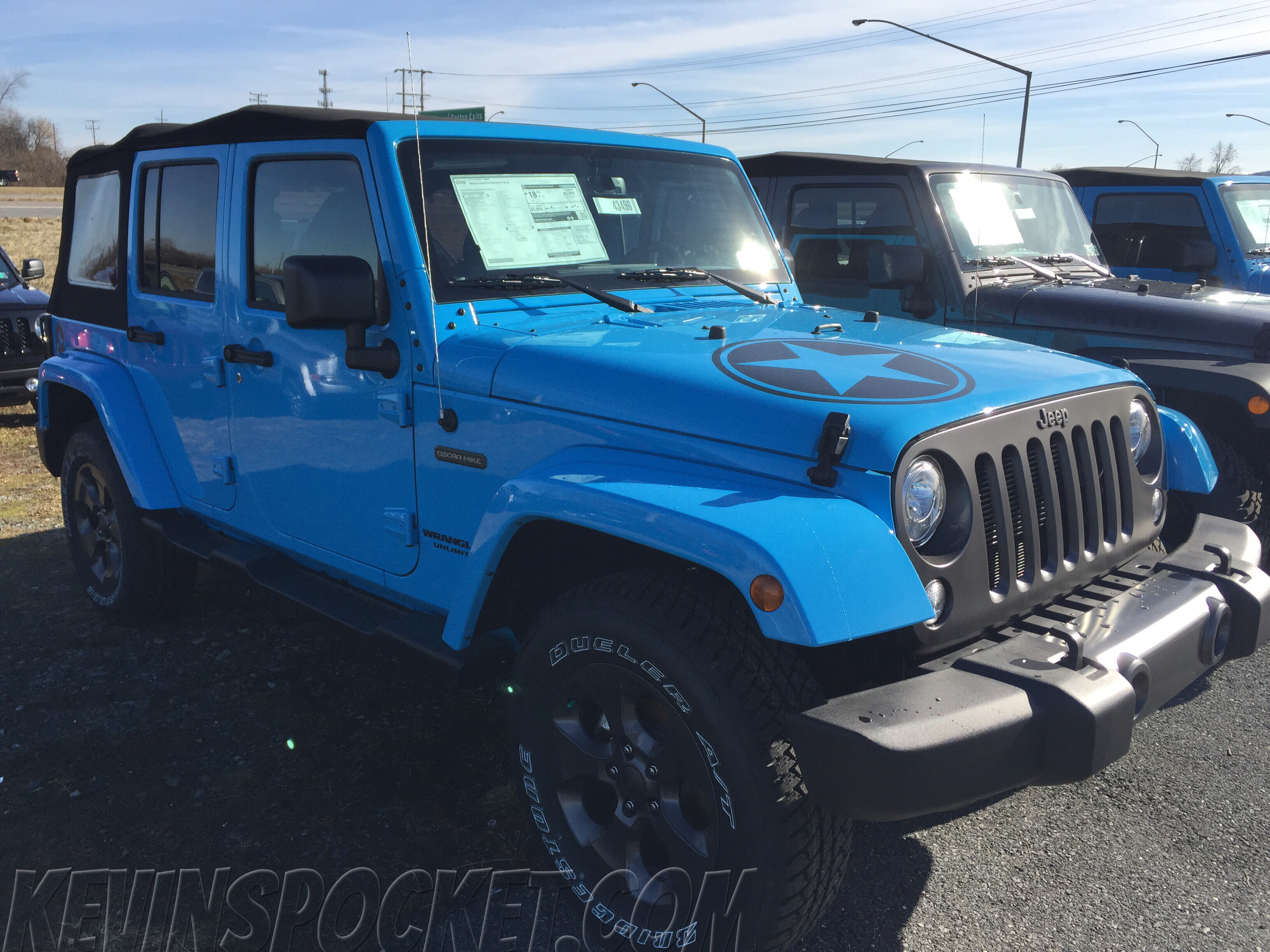 Jeep Wrangler For Sale Nj >> Chief Blue Wranglers Spotted! – kevinspocket