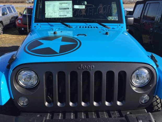 Jeep Wrangler Hemi >> Chief Blue Wranglers Spotted! – kevinspocket