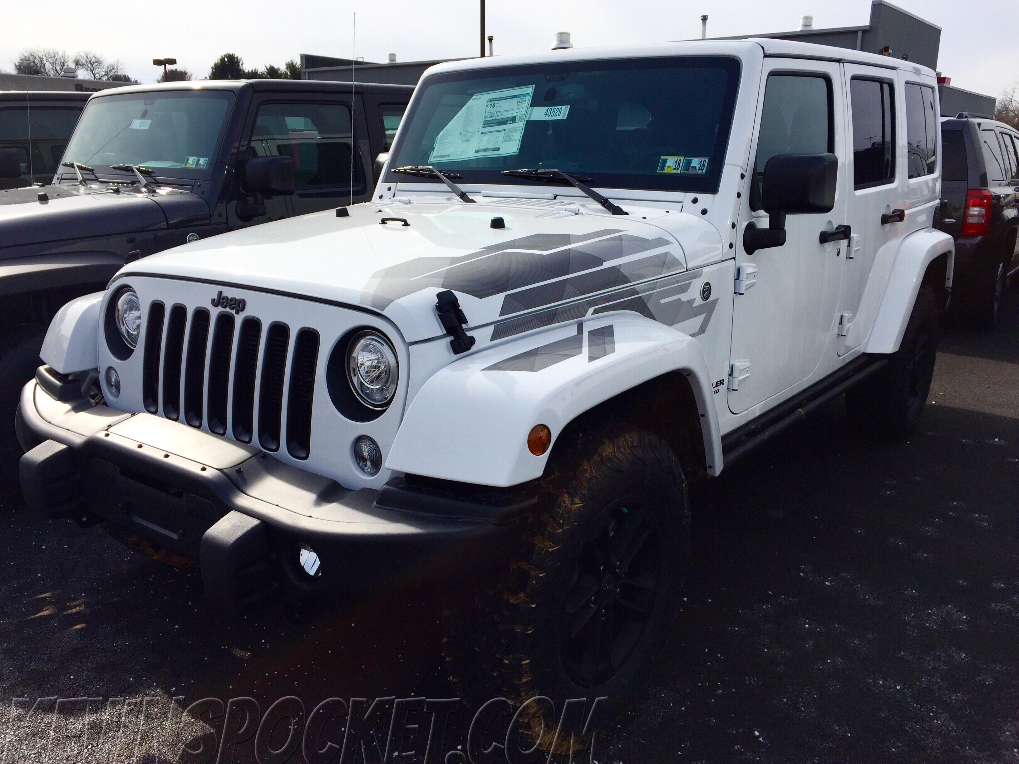 2017 jeep wrangler winter edition kevinspocket