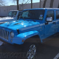 Chief Blue Chief Edition Wrangler spotted