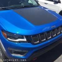 Laser Blue Compass Trailhawk spotted