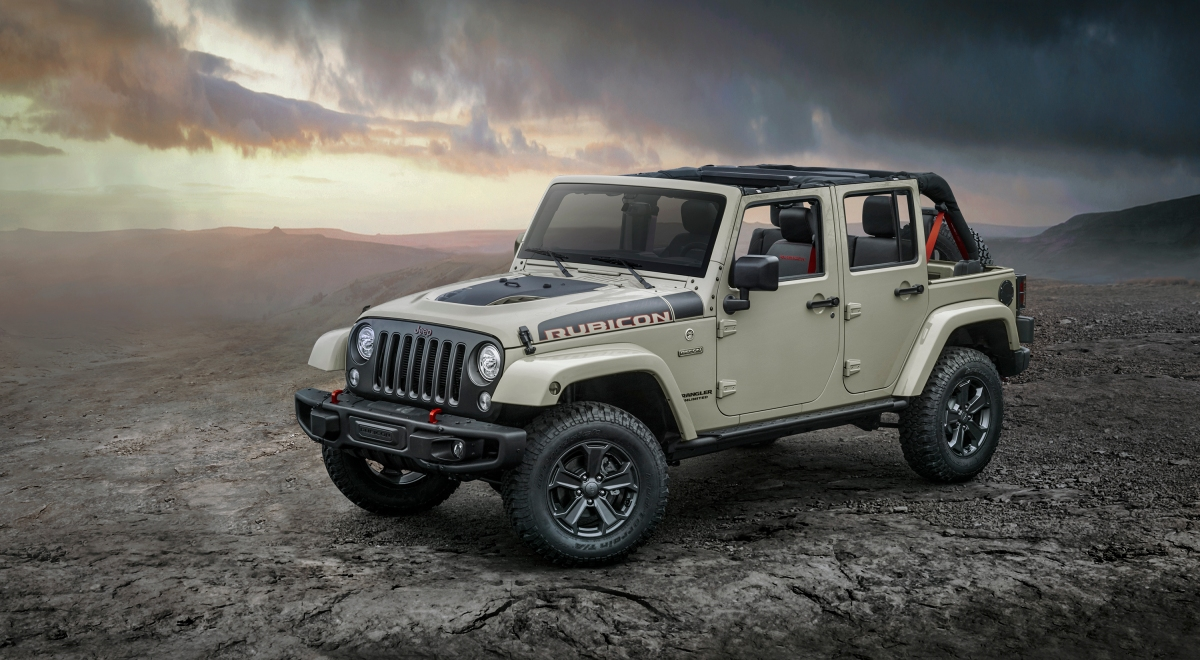 Jeep reveals 2018 JK Wrangler