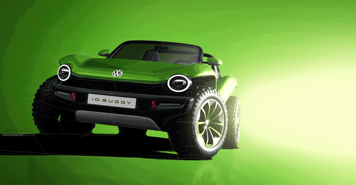 VW reveals ID Buggy concept vehicle