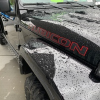 Black Clear Coat Jeep Gladiator Rubicon