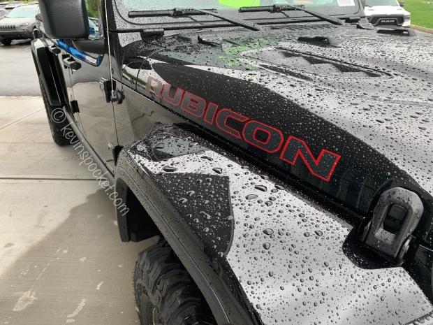Black Clear Coat Jeep Gladiator Rubicon Kevinspocket
